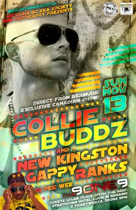 COLLIE BUDDZ & NEW KINGSTON w/GAPPY RANKS & DJ Pee Wee COME TO THE ISLAND FOR A CANADIAN EXCLUSIVE SPECIAL!: COLLIE BUDDZ, New Kingston, Gappy Ranks, DJ Pee Wee @ Distrikt Nov 13 2011 - Sep 20th @ Distrikt