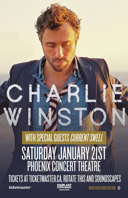 Swell to tour with Charlie Winston
