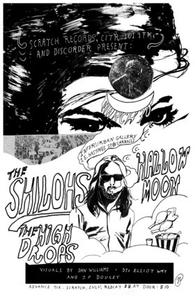 The Shilohs, Hallow Moon, The High Drops @ Interurban Gallery Mar 30 2012 - Apr 2nd @ Interurban Gallery