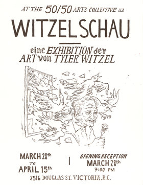 Witzel Schau - Sep 25th @ the fifty fifty arts collective