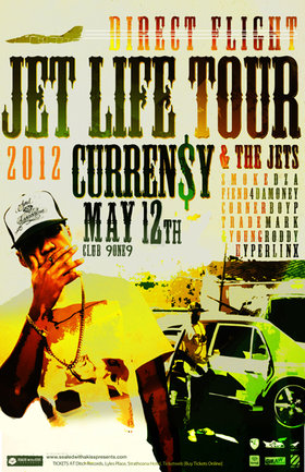 Curren$y, The Jets 1973, Fiend 4 Da Money, Cornerboy P, Trademark, Young Roddy, Hyperlinx @ Distrikt May 12 2012 - Nov 29th @ Distrikt
