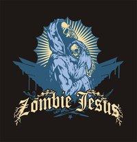 Zombie Jesus - Virgin Baby Black Hoodie