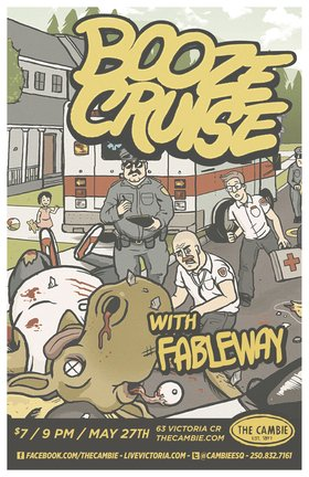 PUNK SHOW: w/ Shawn FUCKING Taggart, Fableway, Booze Cruise @ The Cambie at the  Esquimalt Inn May 27 2012 - Jul 11th @ The Cambie at the  Esquimalt Inn