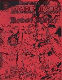 Zombie Jesus Vs. Robot Hitler Cover A