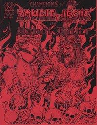 Zombie Jesus Vs. Robot Hitler Cover B