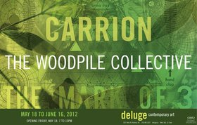 Carrion :  The Woodpile Collective @ Deluge Contemporary Art May 18 2012 - Mar 30th @ Deluge Contemporary Art