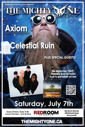 The Mighty One, Axiom, Celestial Ruin, Kicked Off the Farm @ The Red Room Jul 7 2012 - Apr 8th @ The Red Room