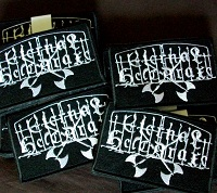 Fully embroidered EH Patches!