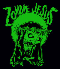 Zombie Jesus - Green Jesus