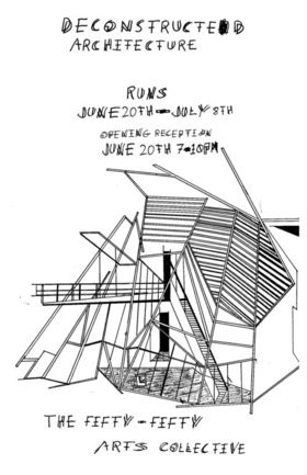 Deconstructed Architecture by Psychic Pollution :improving formula, through improvisation - Sep 25th @ the fifty fifty arts collective