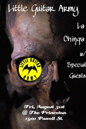 Little Guitar Army, La Chinga, Rat Silo @ Princeton Pub Aug 31 2012 - Jun 3rd @ Princeton Pub