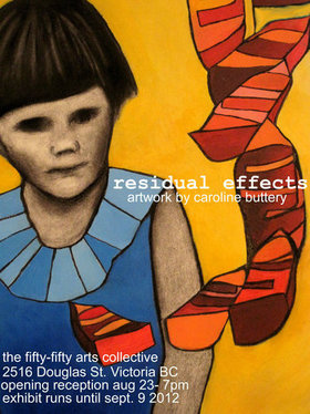Residual Effects - Sep 25th @ the fifty fifty arts collective