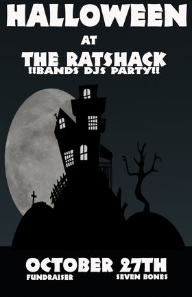 HALLOWEEN AT THE RATSHACK: The Mants, The Backhomes, balacade, DJ Emma B Good @ the ratshack Oct 27 2012 - Mar 31st @ the ratshack