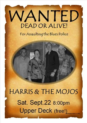 HARRIS GILMORE & THE MOJOS @ Upper Deck (in the Gorge Travelodge) Sep 22 2012 - Jul 12th @ Upper Deck (in the Gorge Travelodge)