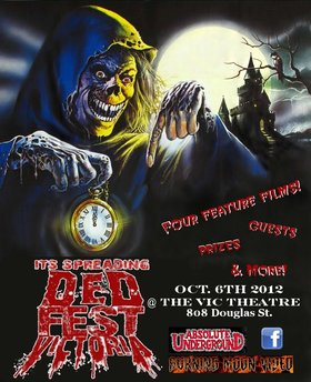 Dedfest Horror Film Festival: Night of the Living Dead, The Creepshow, V/H/S, Famine @ Vic Theater (808 Douglas St) Oct 6 2012 - Mar 6th @ Vic Theater (808 Douglas St)
