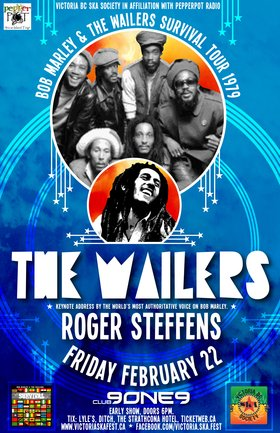 THE WAILERS & guest ROGER STEFFENS present the Survival Tour of 1979 (Performance and Key Note Address) - SOLD OUT: The Wailers, Roger Steffens @ Distrikt Feb 22 2013 - Sep 26th @ Distrikt