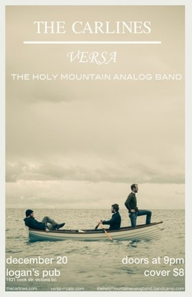 The Carlines, Versa, The Holy Mountain Analog Band @ Logan's Pub Dec 20 2012 - Oct 16th @ Logan's Pub