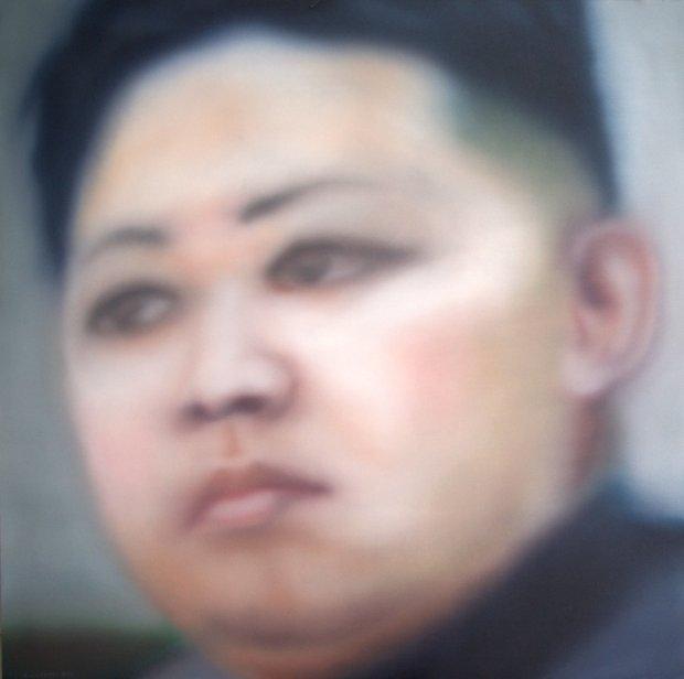 Kim jong-un by  Ben van Netten