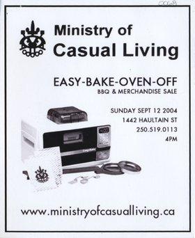 Easy - Bake - Oven - Off - Oct 26th @ 1442 Haultain Street
