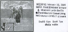 Wedding : David Gifford and Meaghan Smith - Oct 26th @