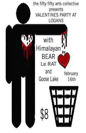 the fifty fifty Valentines Party at Logans: Le Rat, Goose Lake - Oct 20th @ Logan's Pub