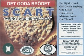 SCART - Young Scandanavian Art - Oct 17th @ Ministry of Casual Living