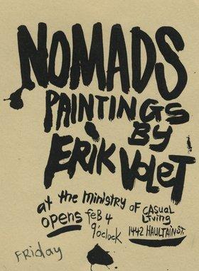Eric Volet : Nomads - Oct 26th @
