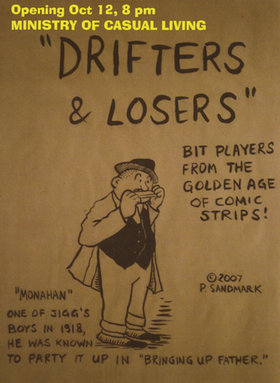 Drifters & Losers: Slim Sandy Band - Oct 26th @ The Ministry of Casual Living