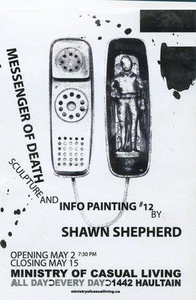 Shawn Shepherd : Messenger of Death - Oct 24th @