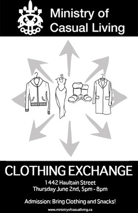 Clothing Exchange - Oct 26th @
