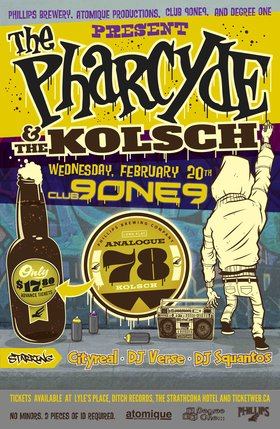 The Pharcyde, Cityreal, DJ VERSE, DJ SQUANTOS @ Distrikt Feb 20 2013 - Jun 2nd @ Distrikt
