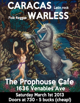 Vitamin Dance: a night of booty-shaking with Warless and Caracas: Warless, Caracas @ The Prophouse Cafe Mar 2 2013 - Apr 1st @ The Prophouse Cafe