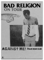 Bad Religion, Against Me!, Polar Bear Club @ The Vogue Theatre Apr 13 2013 - Sep 23rd @ The Vogue Theatre