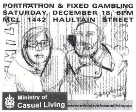 Portrathon & Fixed Gambling - Oct 26th @