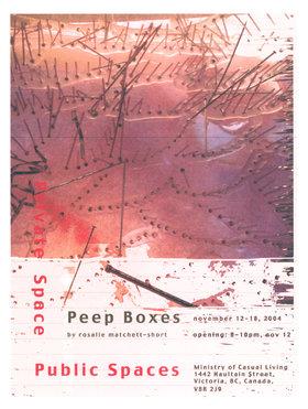 Roselie Matchett - Short : Peep Boxes - Oct 26th @