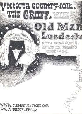 The Gruff with Old Man Luedecke - Oct 26th @ Ministry of Casual Living