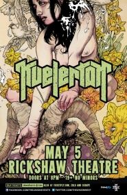 Kvelertak @ Rickshaw Theatre May 5 2013 - Sep 23rd @ Rickshaw Theatre