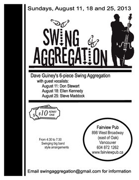 Swing Aggregation @ Fairview Pub Aug 11 2013 - May 29th @ Fairview Pub