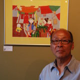 Ed Chan and one of his exquisite works of artby H.B. Strasbourg-Thompson BFA