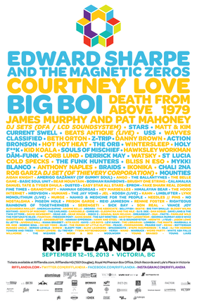 RIFFLANDIA 2013 - September 12 - 15 @ Various Venues Sep 12 2013 - May 14th @ Various Venues