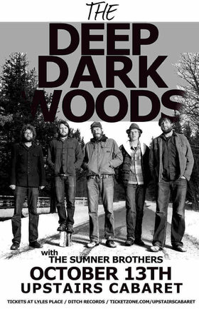 CD Release: The Deep Dark Woods @ The Upstairs Cabaret Oct 13 2013 - May 26th @ The Upstairs Cabaret