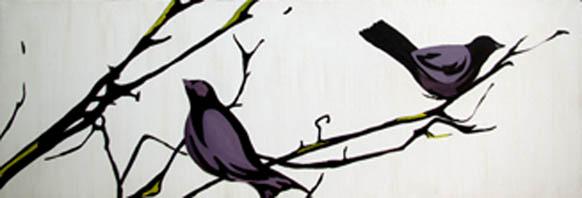 Two Birds by  Alexa Gibbs