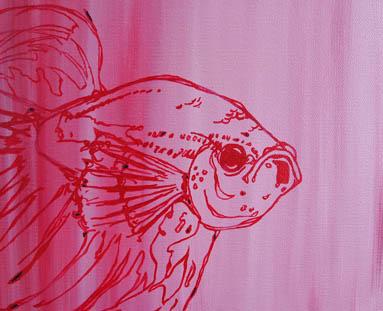 Fish One by  Alexa Gibbs