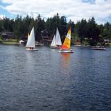 Sailing on Shawnigan Lakeby Marcy Green