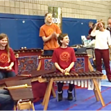 Woodruff Marimba...  with Paul Hornby Colin Woytowich
