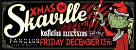 Xmas in Skaville #11: Los Furios, The EliXXXirs, Brehden @ Vancouver FanClub Dec 13 2013 - Oct 30th @ Vancouver FanClub