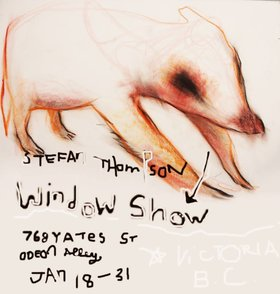 Stefan Thompson : Window Show - Oct 26th @ Odeon Alley