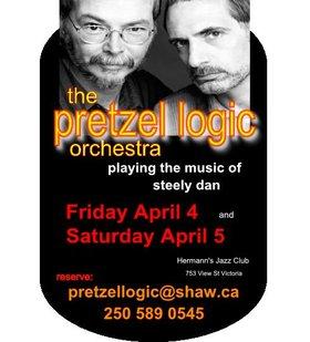 The Pretzel Logic Orchestra - playing the music of Steely Dan: Pretzel Logic Orchestra @ Hermann's Jazz Club Apr 4 2014 - Oct 22nd @ Hermann's Jazz Club