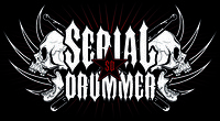 Tyrith our drummer has now been endorsed by Serial Drummer Clothing!