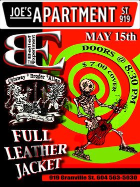 full-tilt rocknrolla..: The Belief Experiment, Ottaway, Broder, Allen, Full Leather Jacket @ Joe's Apartment May 15 2014 - Sep 28th @ Joe's Apartment